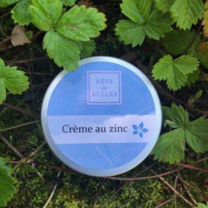 Crème au zinc