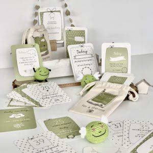 Pregnancy milestones cards